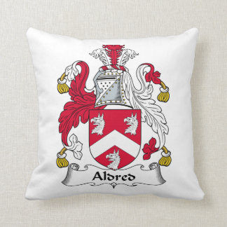 Aldred Family Crest Pillow