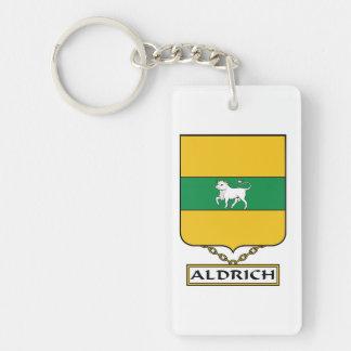 Aldrich Family Crest Keychain