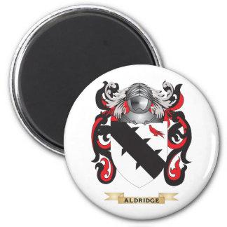 Aldridge Coat of Arms (Family Crest) 2 Inch Round Magnet