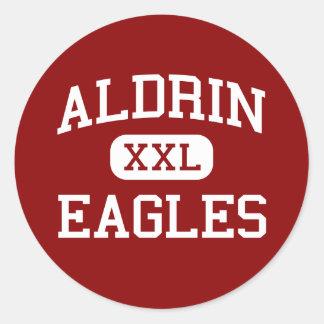 Aldrin - Eagles - Junior - Barstow Illinois Round Sticker
