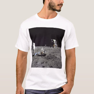 Aldrin Looks Back at Tranquility Base T-Shirt