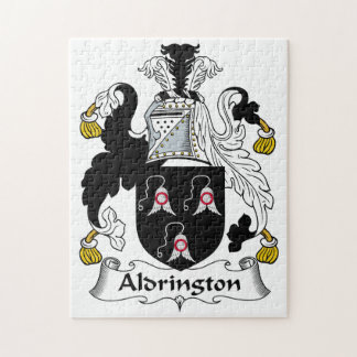Aldrington Family Crest Jigsaw Puzzle