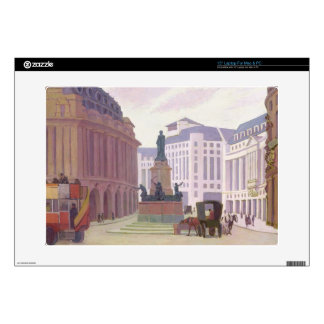 Aldwych (oil on canvas) decal for laptop