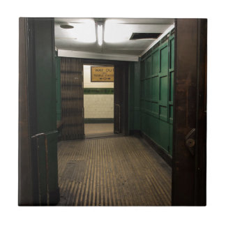 Aldwych Station Lift Tile