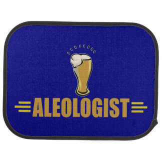 Ale, Beer Drinking Car Floor Mat