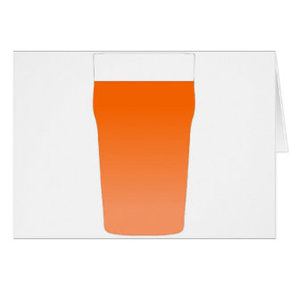 Ale bitter beer card