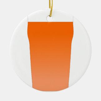 Ale bitter beer ceramic ornament