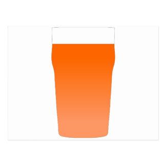 Ale bitter beer postcard