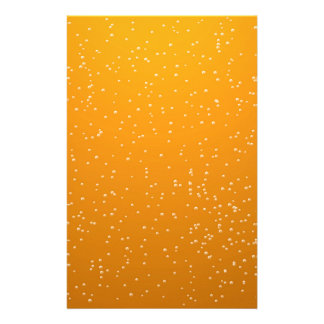 Ale with Tiny Bubbles Background Art Stationery