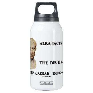 Alea Iacta Est el dado es César echado Botella Isotérmica De Agua