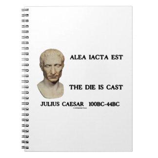 Alea Iacta Est el dado es César echado Cuaderno