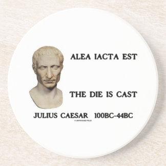 Alea Iacta Est el dado es César echado Posavasos Manualidades