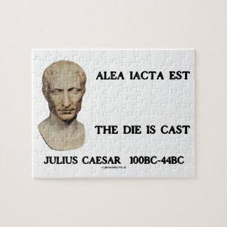 Alea Iacta Est el dado es César echado Puzzle