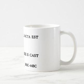 Alea Iacta Est - se echa el dado Taza De Café