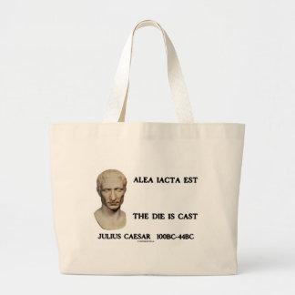 Alea Iacta Est - The Die Is Cast Jumbo Tote Bag