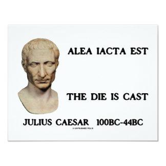 Alea Iacta Est - The Die Is Cast Card