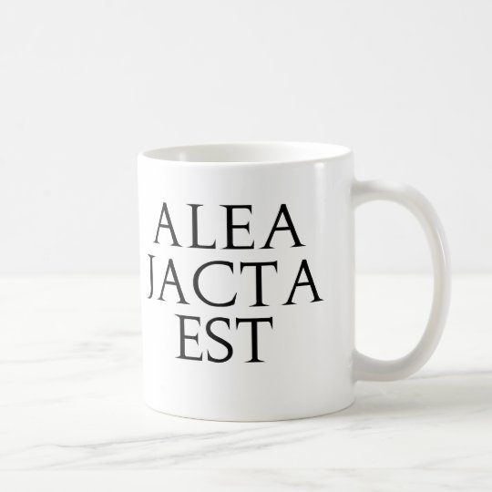 Alea Jacta Est Coffee Mug