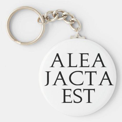 Alea Jacta Est Llavero Redondo Tipo Pin