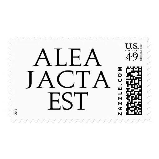 Alea Jacta Est Stamps