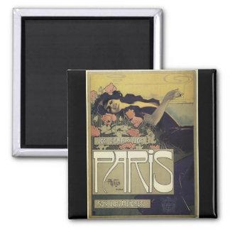 Aleardo Villa ~ Paris Art Nouveau Magnet