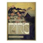 Aleardo Villa ~ Paris Art Nouveau Postcard