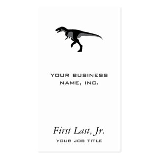 Alectrosaurus Dinosaur Double-Sided Standard Business Cards (Pack Of 100)
