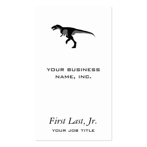 Alectrosaurus Dinosaur Business Cards