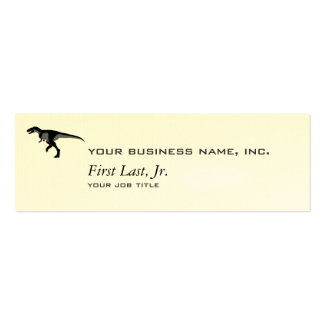 Alectrosaurus Dinosaur Double-Sided Mini Business Cards (Pack Of 20)
