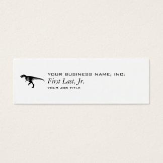 Alectrosaurus Dinosaur Mini Business Card