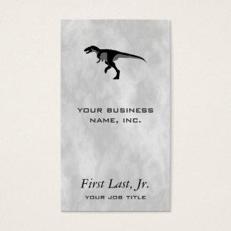 Alectrosaurus Dinosaur Smoke Business Card