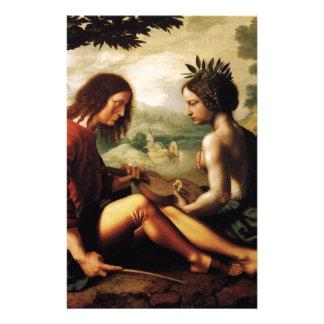 Alegoría cristiana en enero Provoost Papeleria