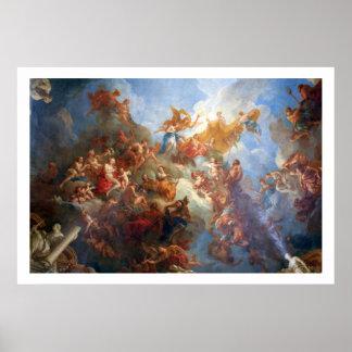 Alegoría de Hércules Poster