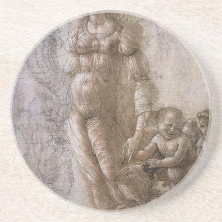 Alegoría de la abundancia de Sandro Botticelli Posavaso Para Bebida