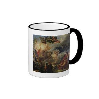 Alegoría de la batalla de Austerlitz Taza A Dos Colores