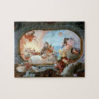 Alegoría de la boda de Rezzonico a Savorgnan Puzzles Con Fotos