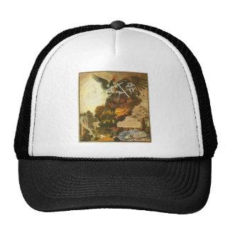 Alegoría de la destrucción de la catedral gorras de camionero