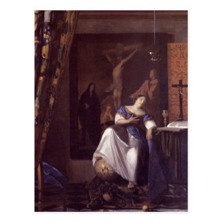 Alegoría de la fe postal
