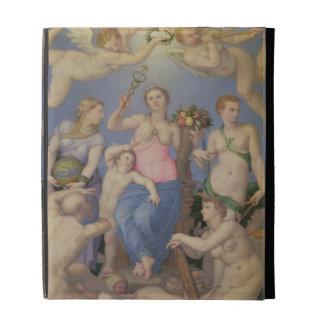 Alegoría de la felicidad, c.1567 (aceite en el cob
