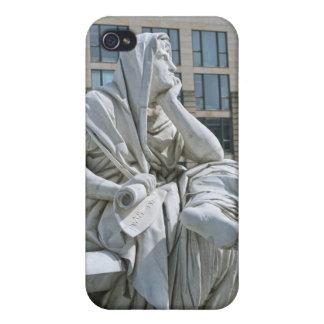 Alegoría de la filosofía del monumento de Schiller iPhone 4 Cárcasas