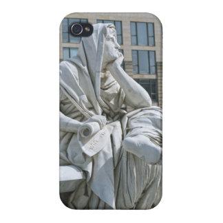 Alegoría de la filosofía del monumento de Schiller iPhone 4 Carcasas