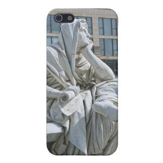 Alegoría de la filosofía del monumento de Schiller iPhone 5 Cárcasas