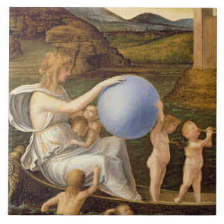 Alegoría de la fortuna cambiante, o melancolía (ac azulejos cerámicos