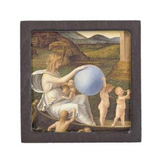 Alegoría de la fortuna cambiante, o melancolía (ac caja de recuerdo de calidad