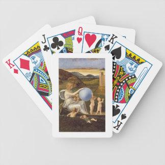 Alegoría de la fortuna cambiante, o melancolía (ac baraja