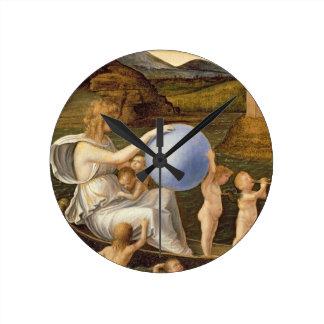 Alegoría de la fortuna cambiante, o melancolía (ac relojes de pared