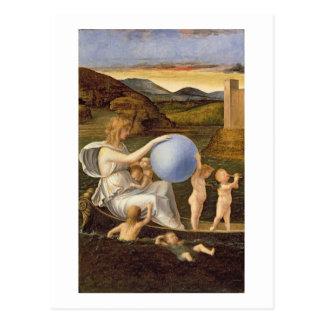 Alegoría de la fortuna cambiante, o melancolía tarjetas postales