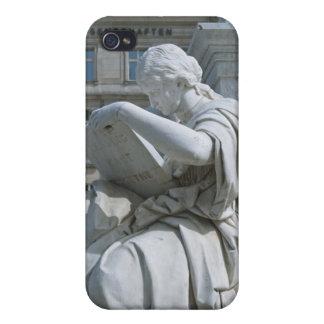 Alegoría de la historia del monumento de Schiller  iPhone 4 Carcasa
