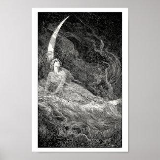 Alegoría de la luna poster
