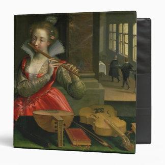 """Alegoría de la música, c.1600 carpeta 1 1/2"""""""
