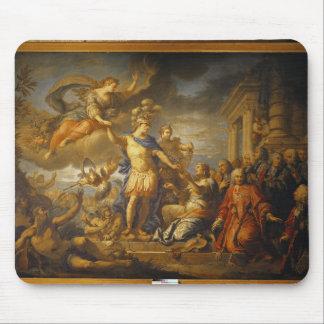 Alegoría de la paz del AIX-la-Chapelle, 1761 Alfombrilla De Ratón